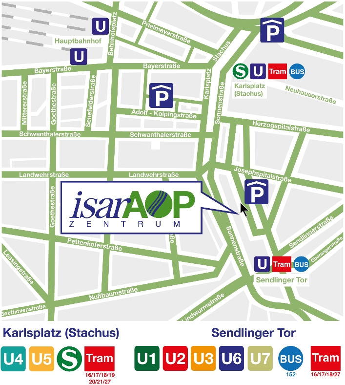 Lageplan des IsarAOP