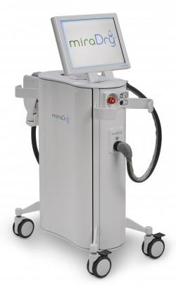 das miraDry Gerät gegen Achselschwitzen